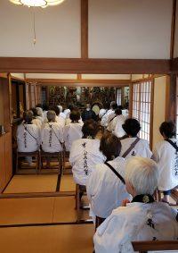 遠江四十九薬師奉賛会の巡拝がありました。